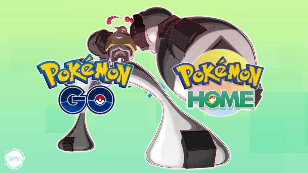 Pokemon Go Pokemon Home Meltan Melmetal