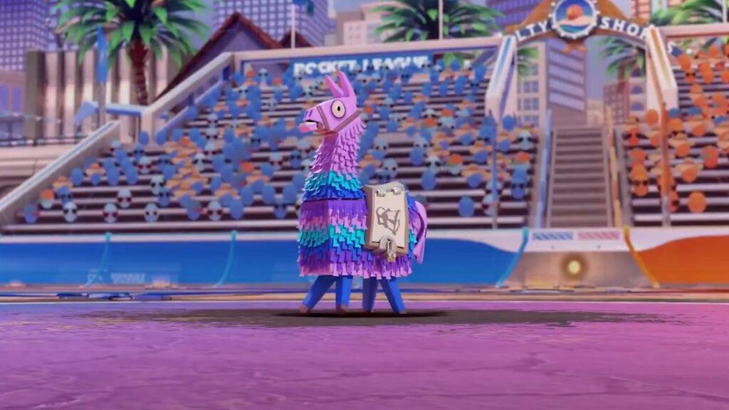 Rocket League Announces 'Llama-Rama' Fortnite Event (VIDEO)