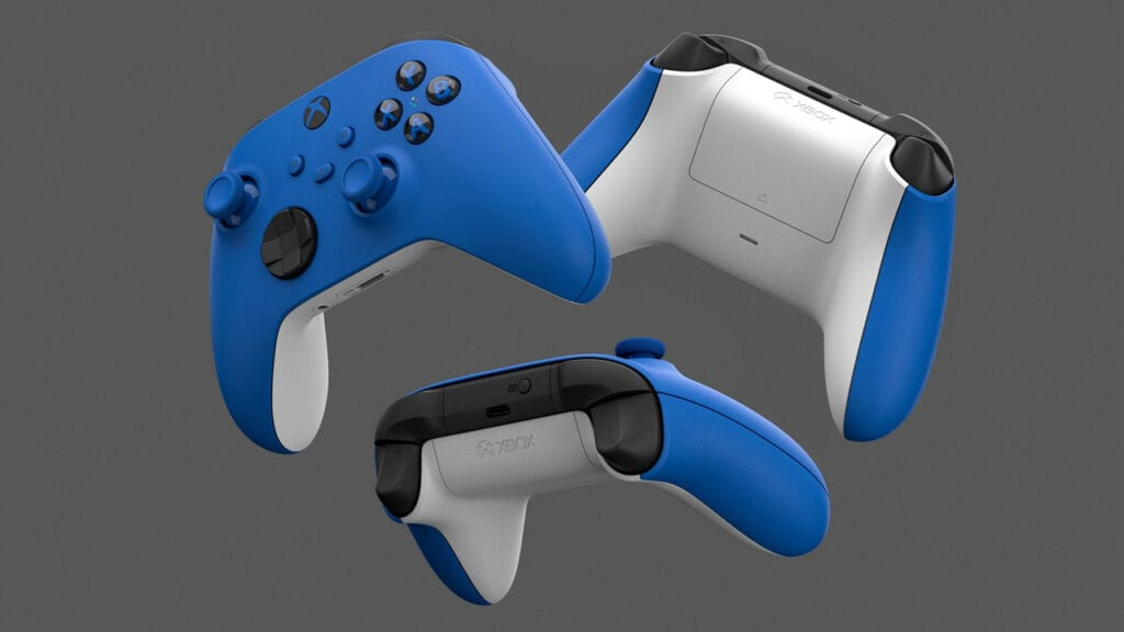 Xbox Series X S Controller Shock Blue