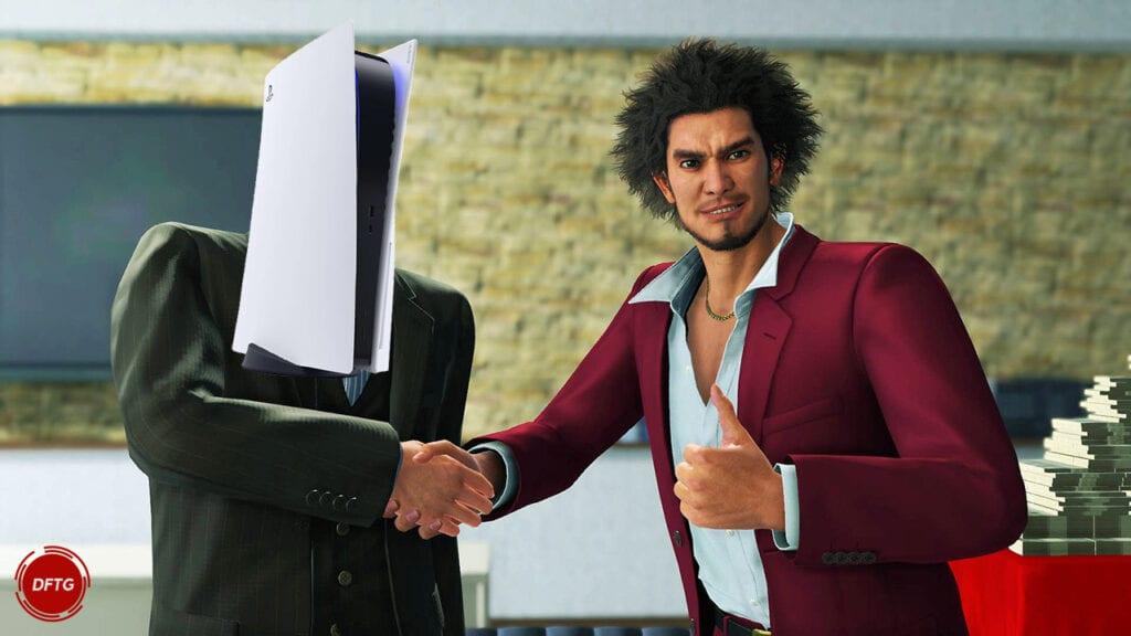 Yakuza Like A Dragon PlayStation 5 PS5