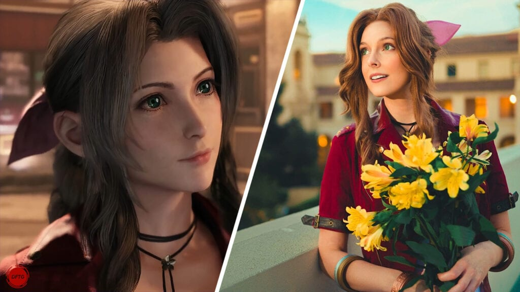 Final Fantasy VII Remake Actor Cosplaying As Her Character Is The Most Wholesome Thing Ever