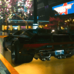 Cyberpunk 2077 Night City Vehicles