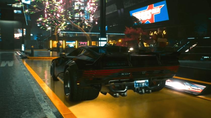 Cyberpunk 2077 Night City Vehicles