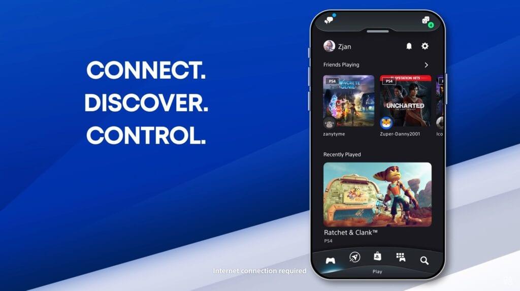 sony playstation app ps5 ps4