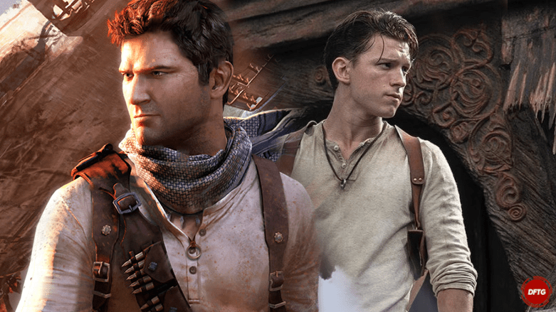 Uncharted movie Tom Holland Nathan Drake
