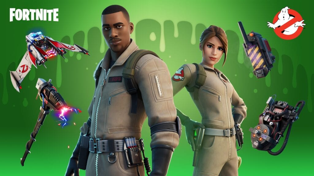 Fortnite Reveals Ghostbusters Collab Just In Time For Halloween