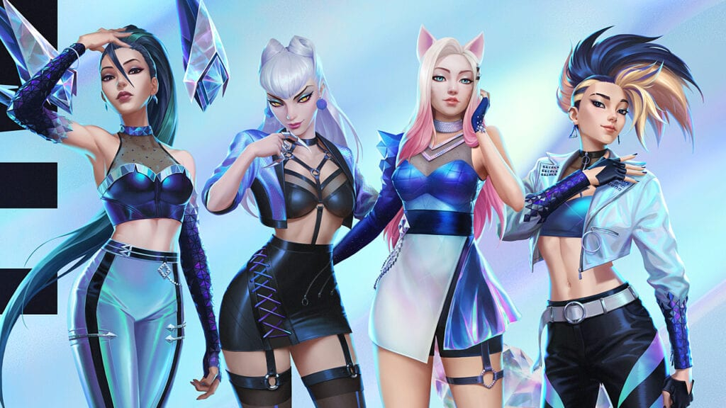 League of Legends K/DA Kai'Sa Evelynn Ahri Akali