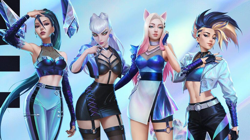 League of Legends K/DA Kai'Sa Evelynn Ahri Akali