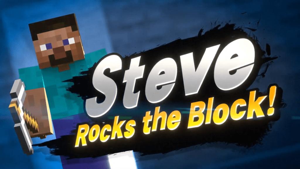 Minecraft Steve Super Smash Bros Ultimate