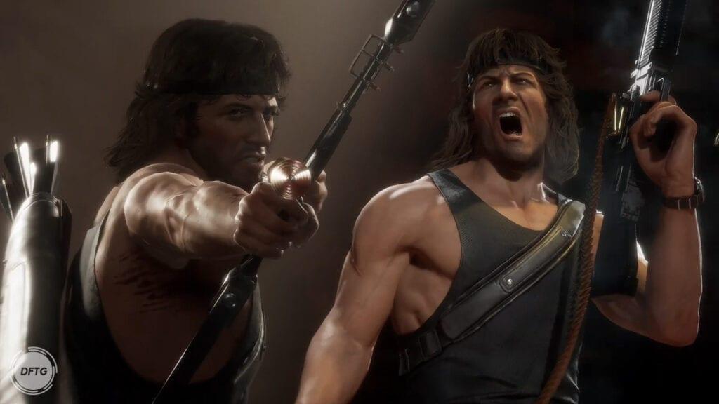 Mortal Kombat 11 Rambo Kombat Pack 2