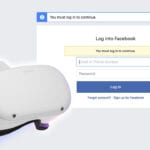 Oculus Quest 2 Facebook Login