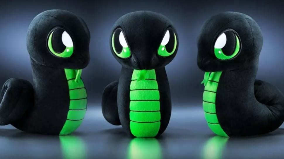 Razer Officially Announces Sneki Snek Plushie, Doesn't Come With RGB LEDs