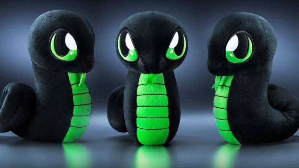 Razer Officially Announces Sneki Snek Plushie, Doesn't Come With RGB LEDs