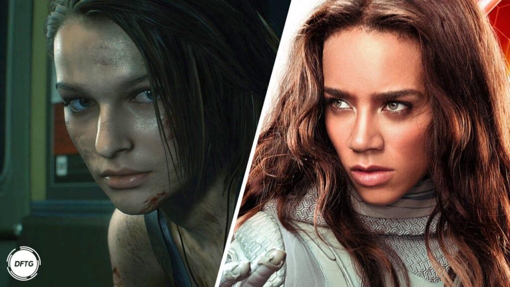 Resident Evil Movie Reboot Jill Valentine Hannah John-Kamen