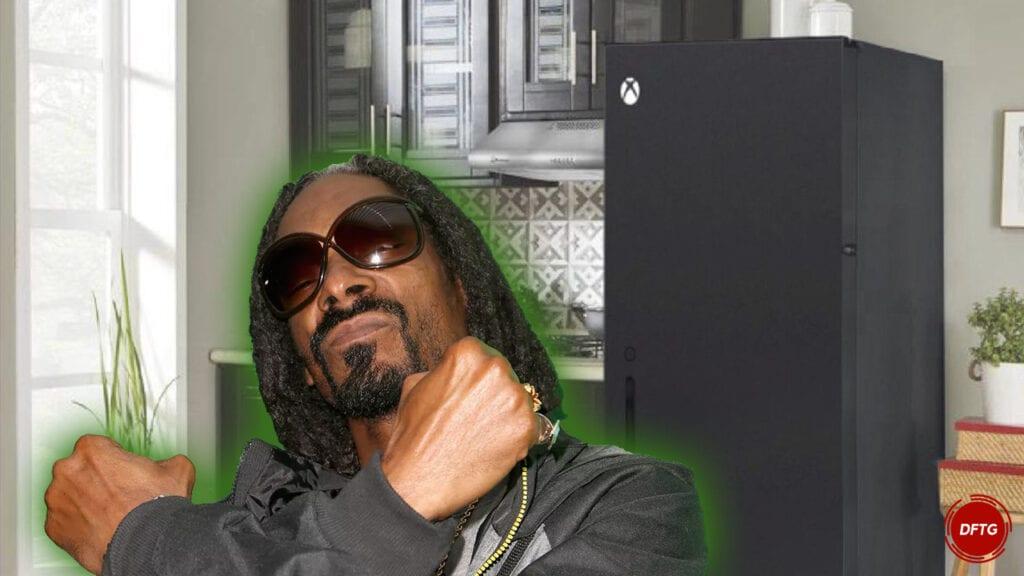Snoop Dogg Xbox Series X fridge