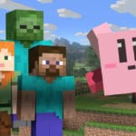 Super Smash Bros. Ultimate Minecraft Steve Alex Zombie Enderman Kirby