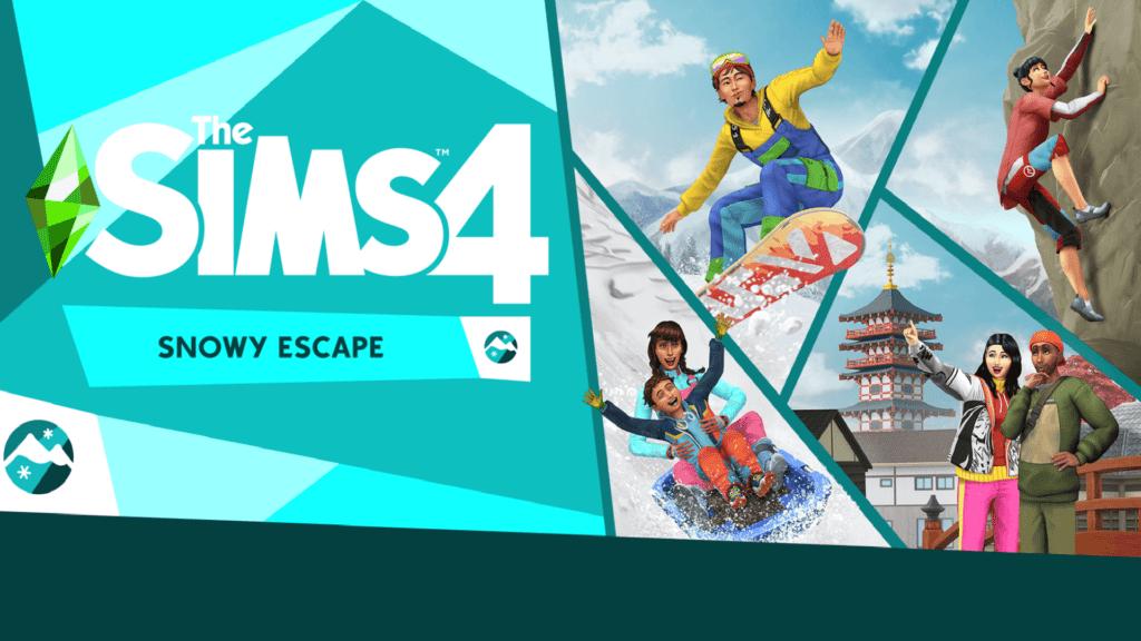 the sims 4 snowy escape