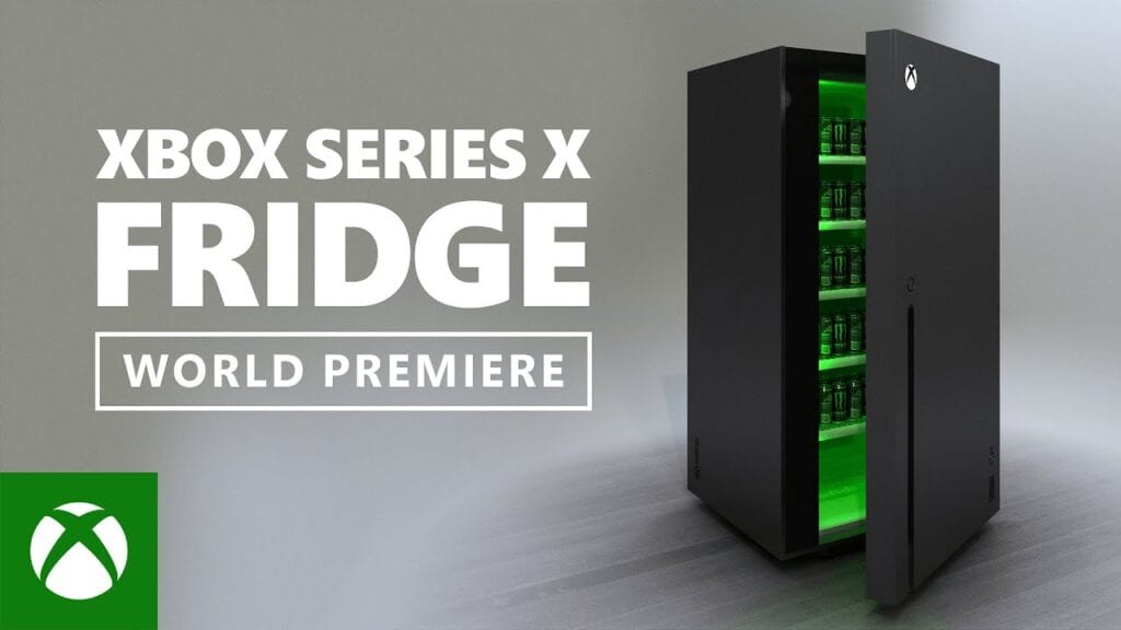 Xbox Series X Fridge