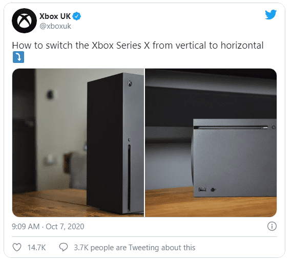 Xbox Takes A Shot At The PS5 For Its Multi-Step Vertical-Horizontal Process