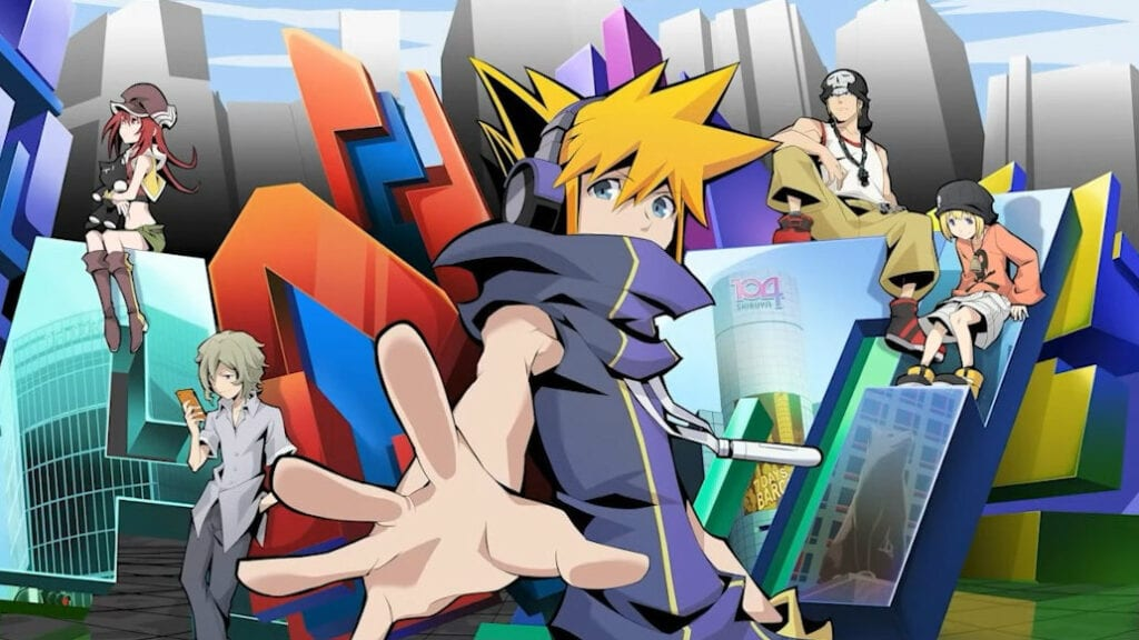 The world ends with you anime