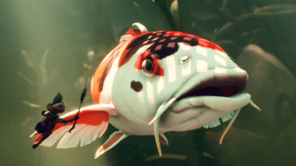Grounded Update Underwater Biome Big Fish
