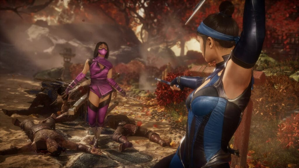 Mortal Kombat 11 Mileena Gameplay