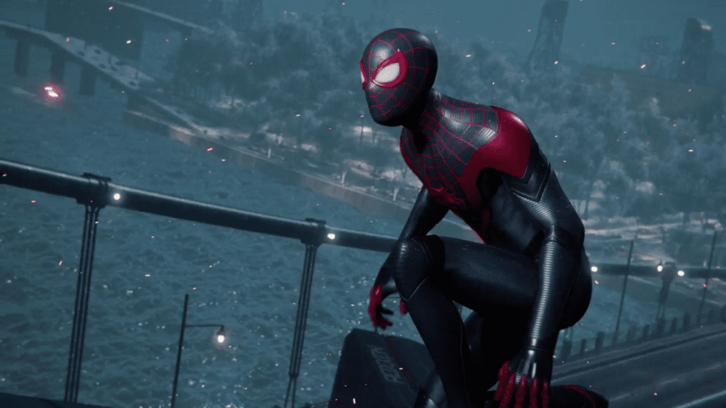 Spider-Man Miles Morales Spider-Brick Glitch