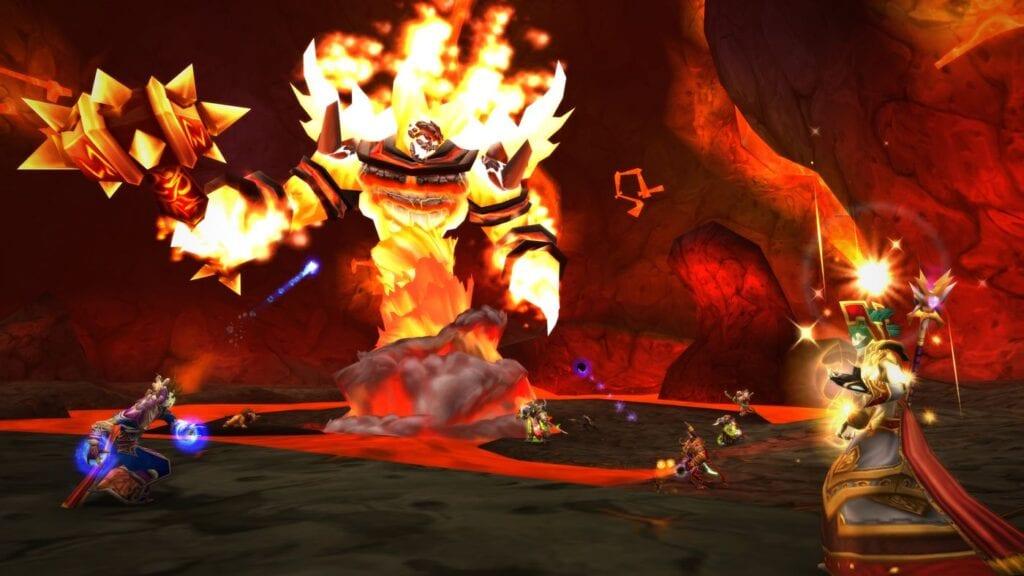 World of Warcraft player