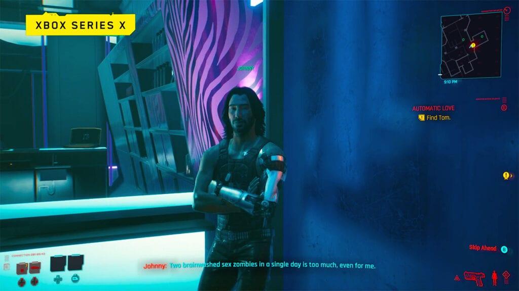 Cyberpunk 2077 Keanu