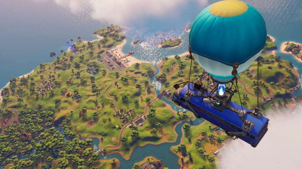 Fortnite Next-Gen Upgrades PlayStation 5 Xbox Series X S