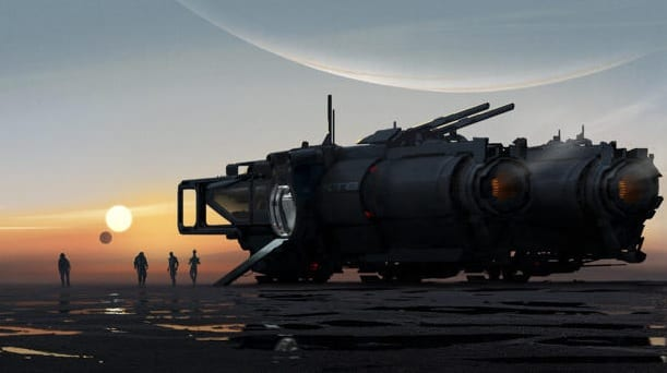 New Mass Effect Game Concept Art Revealed