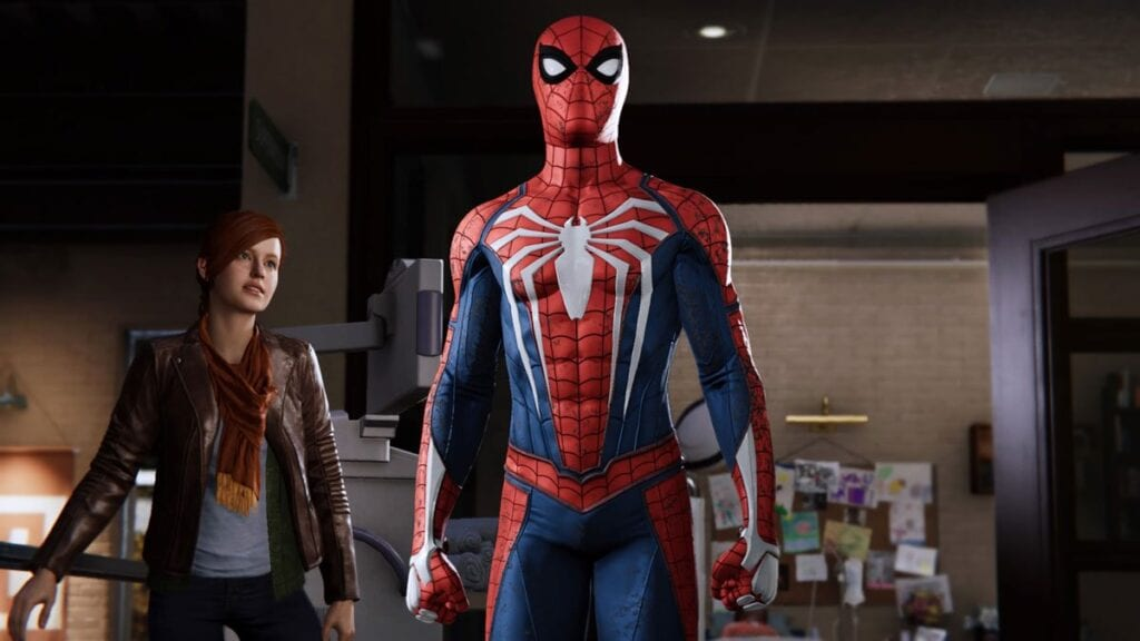 Spider-Man PS4 Saves