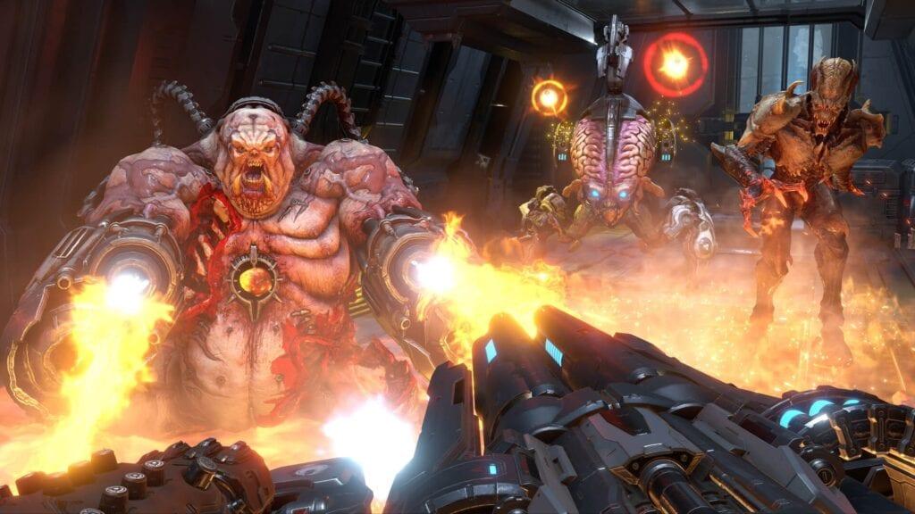 Doom Eternal Nintendo Switch