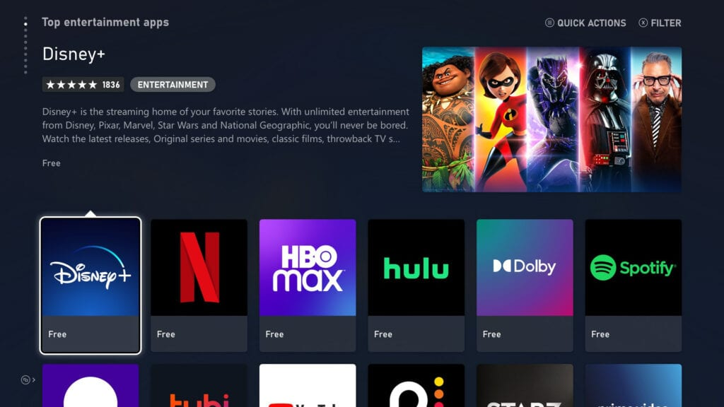 Xbox Series X S Streaming Apps HBO Max