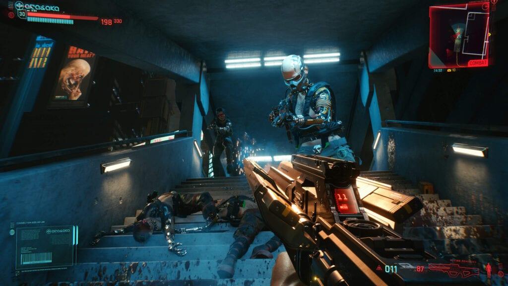 Cyberpunk 2077 multiplayer development