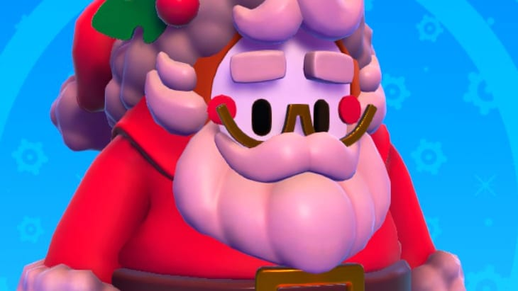 Fall Guys Santa Costume