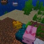 Minecraft Axolotl Snapshot