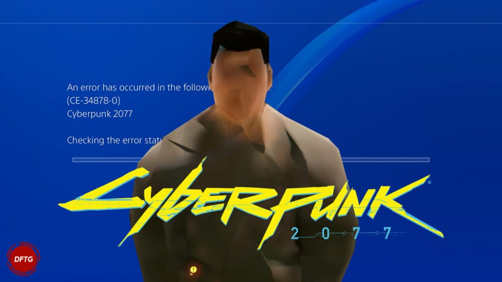 Cyberpunk 2077 Glitch Crash PS4