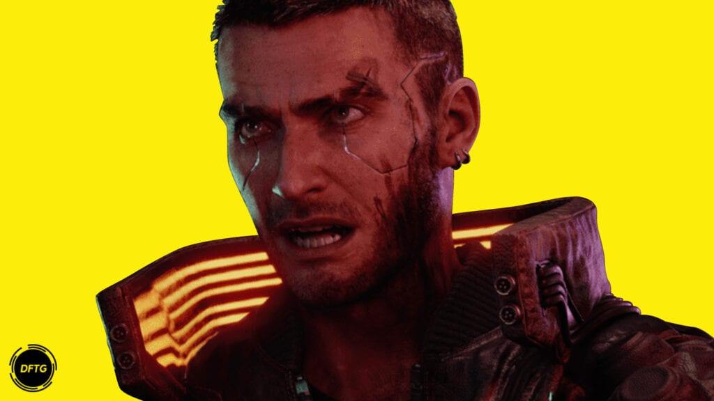 Cyberpunk 2077 Male V yellow