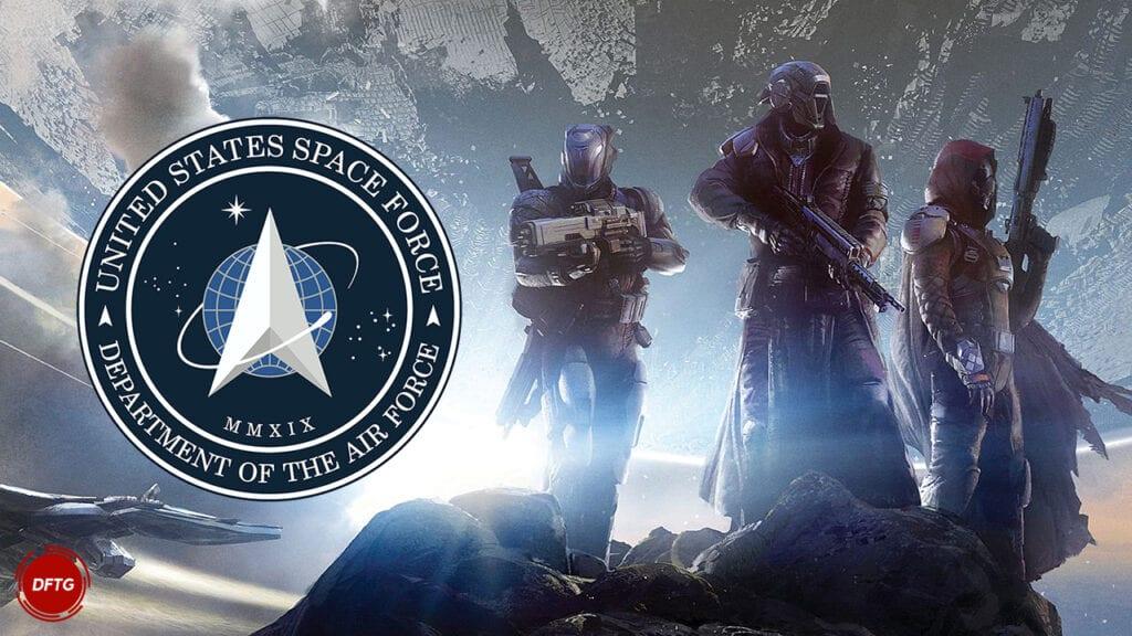 Destiny 2 Guardians Space Force
