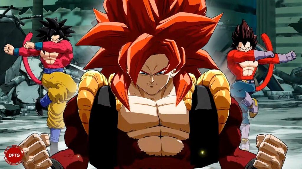Dragon Ball FighterZ Super Saiyan 4 Gogeta GT