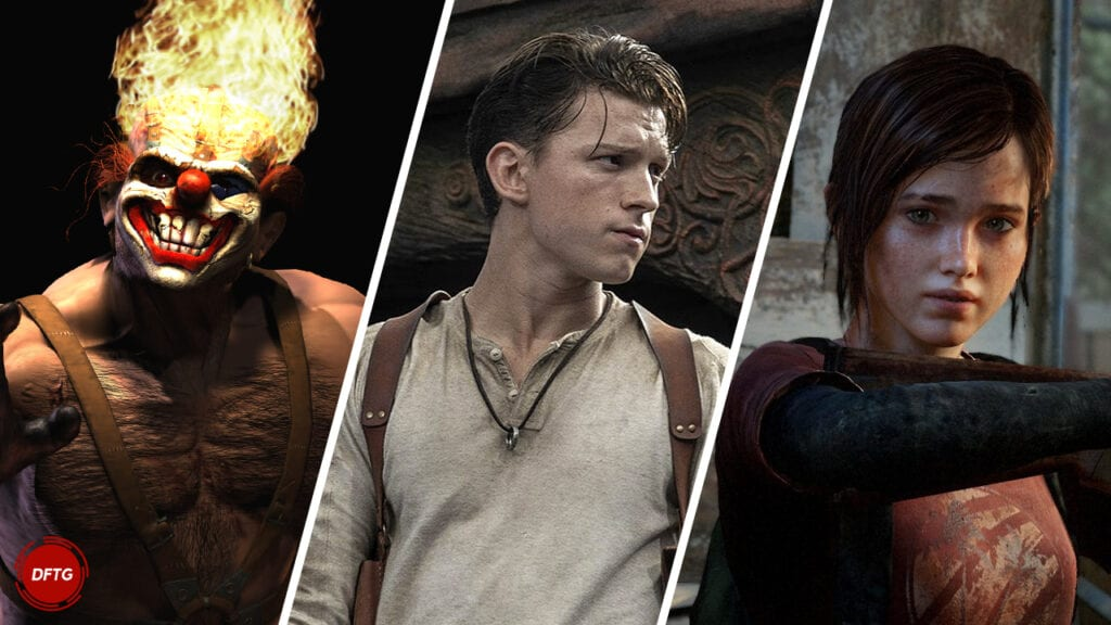 Sony Pictures PlayStation Productions Uncharted Last of Us Twisted Metal