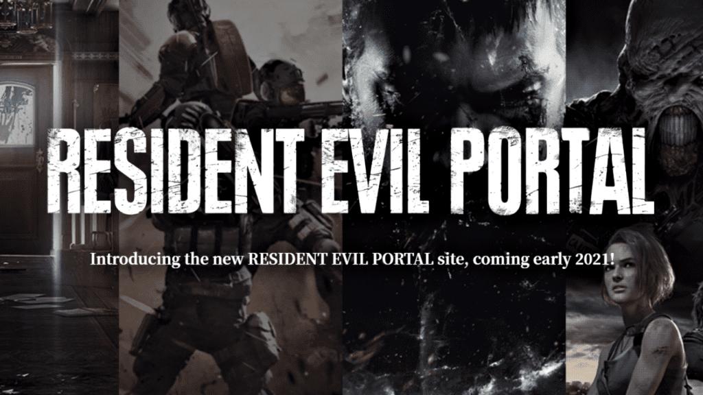 resident evil portal capcom