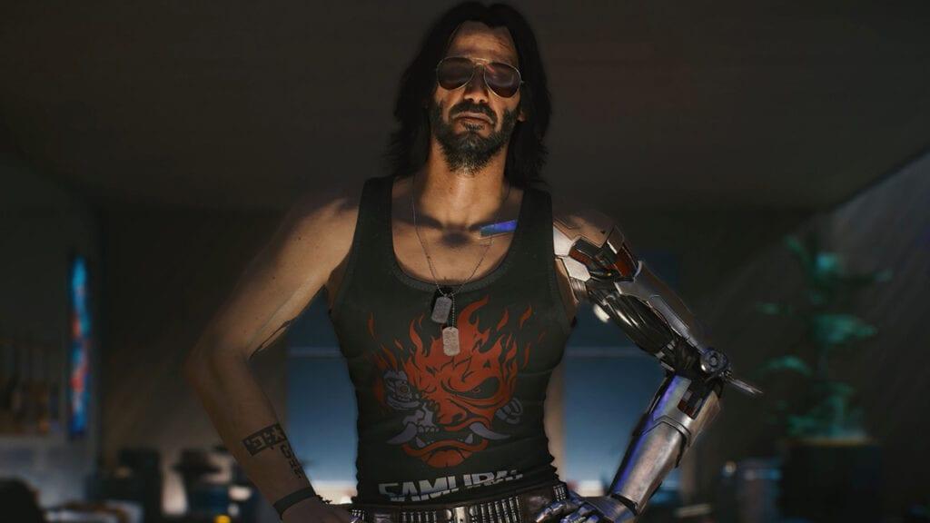 Cyberpunk 2077 Keanu Reeves Johnny Silverhand