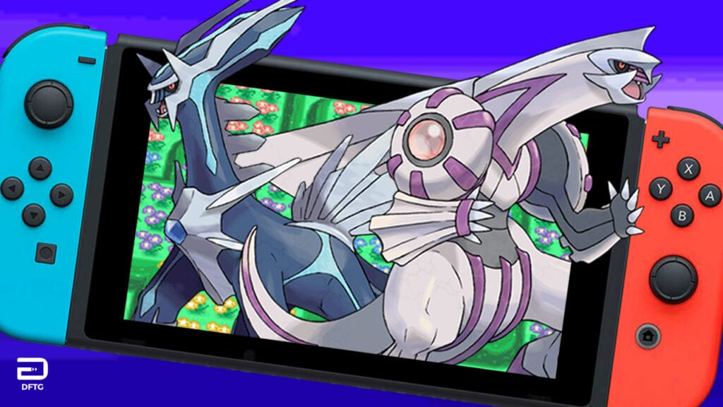 pokemon diamond pearl Nintendo switch