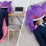 Pokemon Gengar Pillow