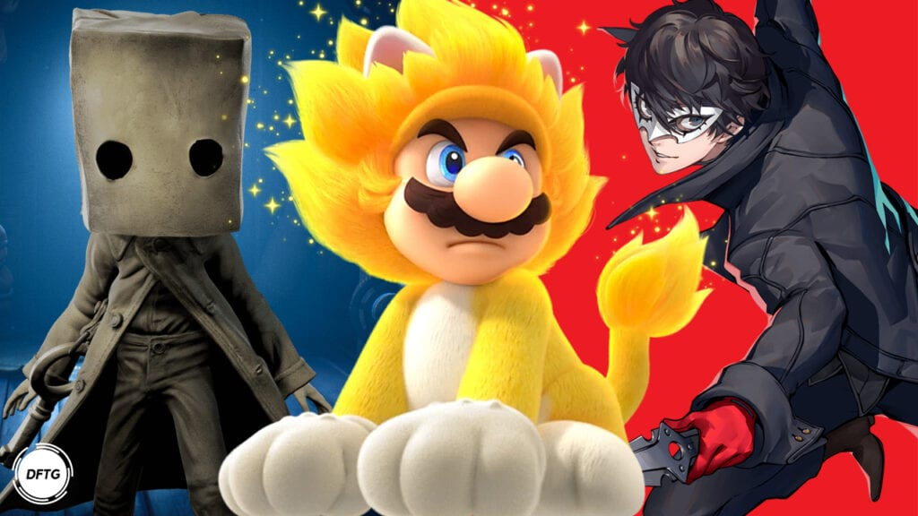 February 2021 Super Mario 3D World + Bowser's Fury Persona 5 Strikers Little Nightmares 2