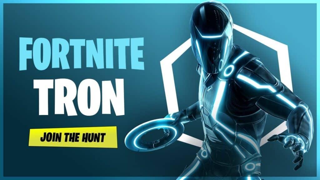 Fortnite Tron