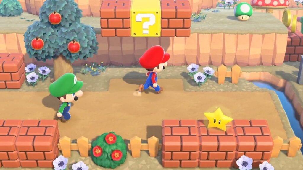New Horizons Super Mario