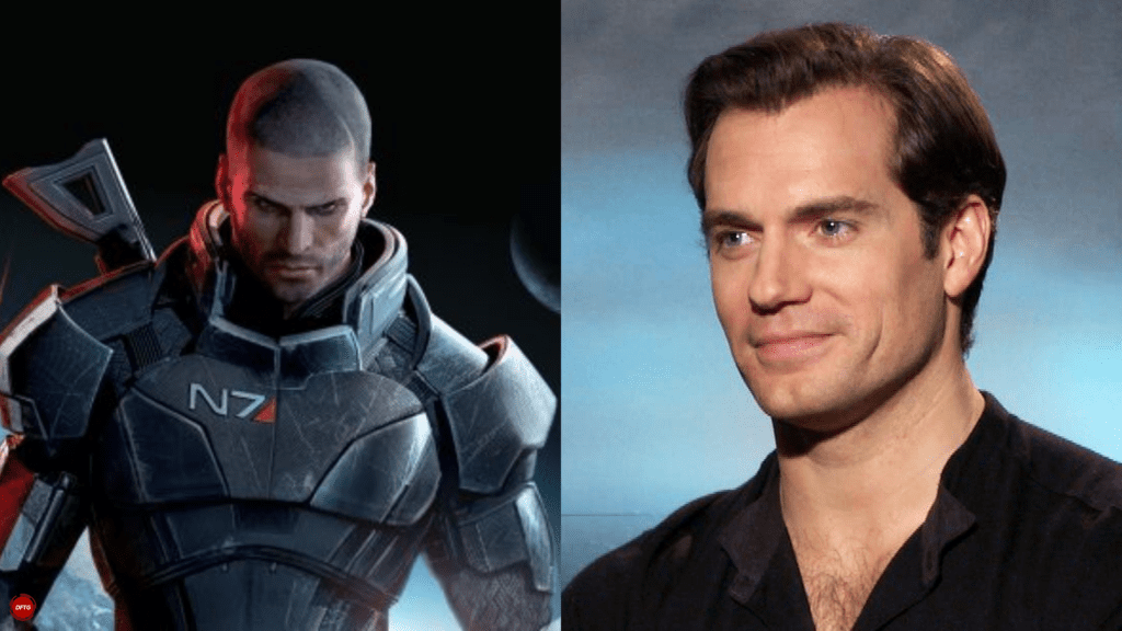 New Mass Effect Project Seemingly Teased By Henry Cavill